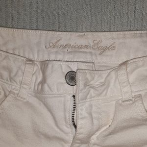 American Eagle Outfitters Shorts - American eagle outfitters white denim shorts
